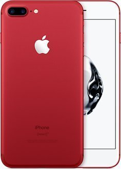 "Apple iPhone 7 Plus SIM unique 4G 128Go Rouge - Smartphones (14cm (5.5 ""), 128Go, 12MP, iOS, 10, Rouge) (Reconditionné Certifié)"