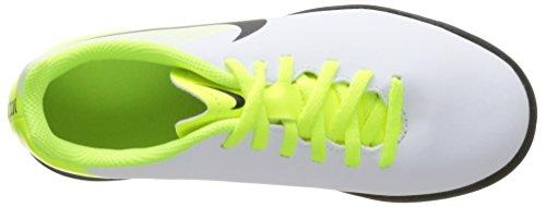 Nike Jr Magistax Ola Ii Tf, Scarpe da Calcio Unisex – Bambini Bianco (White/black-volt-pure Platinum)