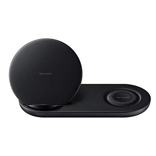 Zariavo Wireless Charger Pad per Samsung Galaxy S10 / S10 + / Watch S2 / 3 Carica Rapida 2 in 1