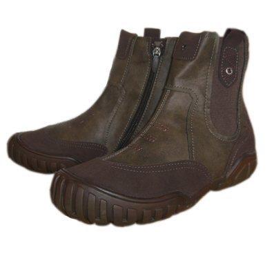GEOX trike j8330G bottes-chaussures en cuir de rechange Marron