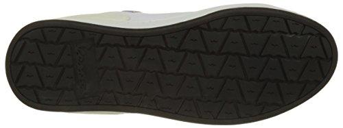 Vespa Footwear Unisex-Erwachsene Freccia Low-Top Bianco