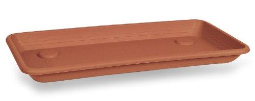 Floralo Plateau en Plastique Imitation Argile de Haute qualité, 80 cm – Choisissez Votre Couleur et Vos Dimensions : 80 cm, Argile