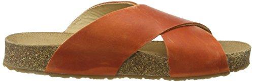 Haflinger Bio Mio Unisex-Erwachsene Sandalen Orange (Rost 733)