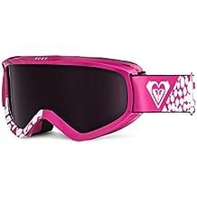 Roxy–Gafas de snowboard, talla única, color rosa
