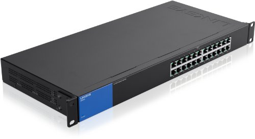Linksys LGS124-EU - Unmanaged Switch Gigabit Bastidor
