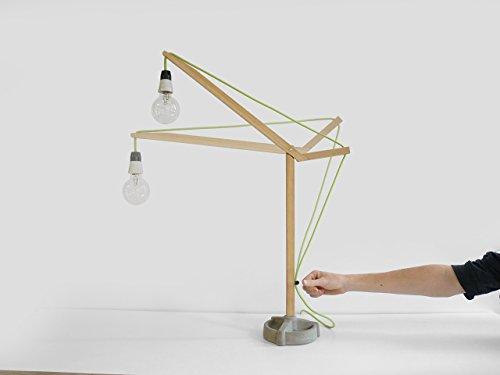 Bau Schreibtischlampe - konstruieren lampe-n handarbeit kiefernholz wand modern wohnzimmer licht beton wohnung deko-ration - Moderne Möbel Aus Kiefernholz