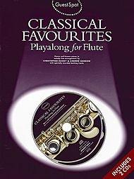 Wise publications–Guest Spot: Classical Favourites Playalong, pour flûte pour flûte traversière