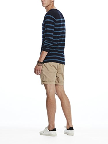 Scotch & Soda Crewneck Pullover In Cashmere Blend Quality with Rolled Edge, Pull Homme Mehrfarbig (Combo A 217)