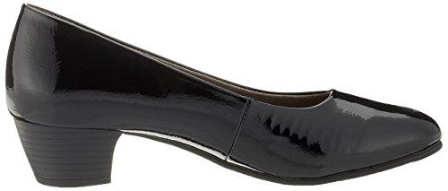 Softline 22360, Scarpe con Tacco Donna Nero (Black Patent)