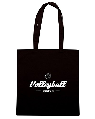 T-Shirtshock - Borsa Shopping SP0140 Volleyball Coach Maglietta Nero