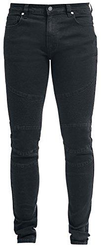 Forplay Biker Pants Jeans nero W38L34