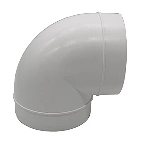 Kair 125mm / 5 inch 90 Degree Round Ducting Elbow