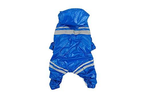 Chenjinxiang01 Regenmantel für große Hunde, Golden Retriever, Labrador, Kostüm mittelgroß bis Vierbeiner für große (Labrador Retriever Kostüm)