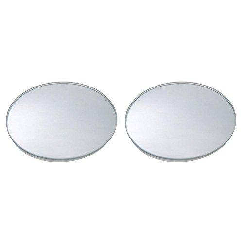 Rahmenlose Weitwinkel rund konvex Auto Rückfahrkamera Blind Spot Spiegel ()
