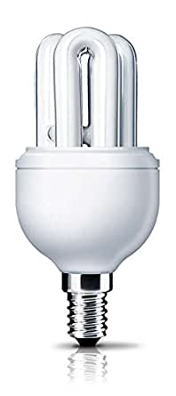 Philips Genie SES E14 8-Watt CFL (Cool Day Light and Pack of 2)