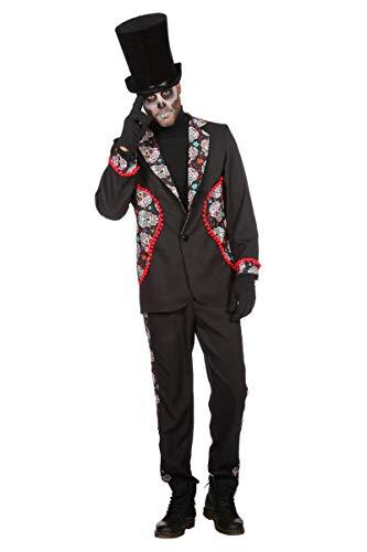 Wilbers Tag der Toten Kostüm Herren Day