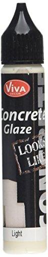 Viva Decor béton Glaze, Blanc, 25 ML