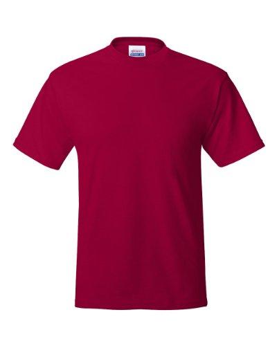 The Adicts auf American Apparel Fine Jersey Shirt Dunkelrot