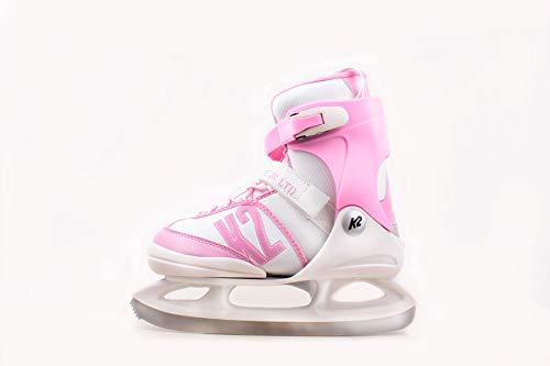 K2 Skates Kinder Ice Skates Schlittschuhe Annika LTD - Rosa-Weiß - 25C0191.1.1 - EU 29-34 / S (Wachen Für Schlittschuhe)