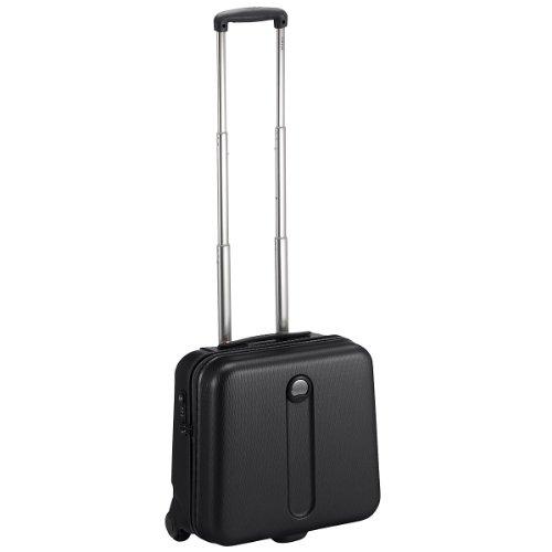 Delsey Helium Bolsa de viaje Maleta de cabina 42 cm compartimento portátil negro