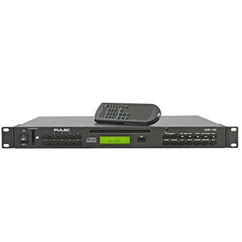 Pulse 1U Rackmount MP3 with CD/SD/USB