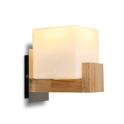 E27 Tapa De Lámpara Sin Bombillas Moderna Forma Cuadrada Lámparas De Pared...