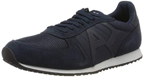 Armani Jeans Herren Sneaker Armani, blau, 42.5 EU
