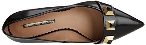 Hannibal Laguna Damen Ebony Geschlossene Schuhe mit Absatz Schwarz (florantic schwarz / schwarz)