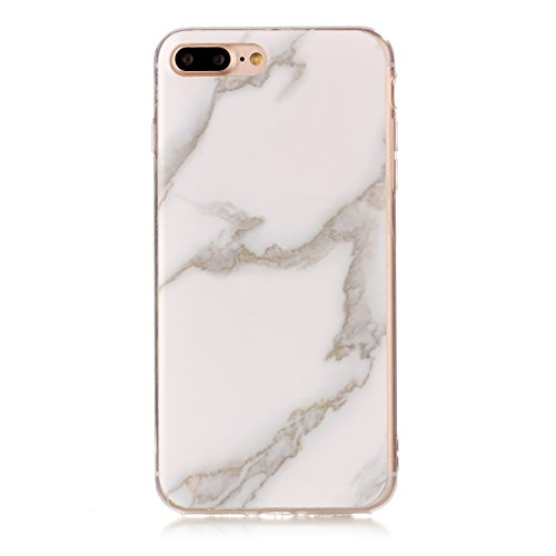 JIALUN-Telefon Fall Für Apple IPhone 7 Plus Fall Imitation Marmor Muster Mode Rückseite Cover Telefon Shell ( Color : Q ) C