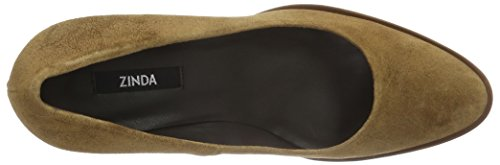 Zinda - 26, Scarpe col tacco Donna Marrone (Braun (Kamel))