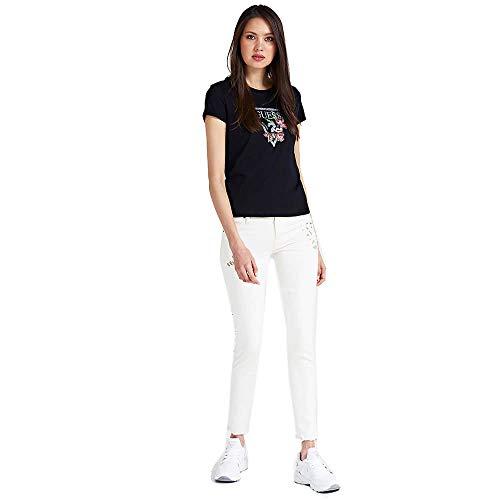 Guess T-Shirt Damen X-Small Schwarz