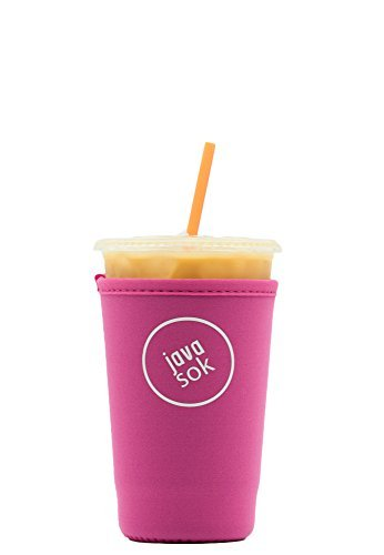 iced-java-sok-bright-pink-medium-perfect-fit-neoprene-cup-sleeve-for-dunkin-donuts-and-starbucks-and
