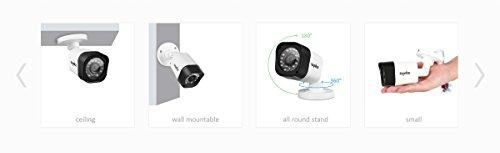 SANNCE-Kit-sistema-de-seguridad-4-cmaras-de-vigilanciaH264-Onvif-P2P-8CH-DVR-y-4-cmaras-720P-TVI-IP66-con-IR-LED