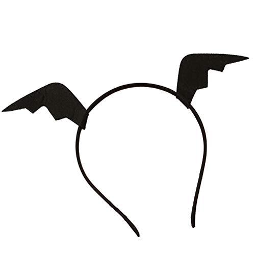 Cute Teufel Kostüm - Amosfun 2 STÜCKE Nette Teufel Horn Stirnband Halloween Party Haarband Karneval Maskerade Urlaub Cosplay Kostüm Zubehör Party Favors
