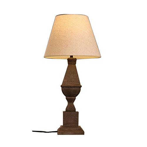 LSX- Schreibtischlampe American Retro Tischlampe, Schlafzimmer Nachttisch Harz energiesparende dekorative Lampen oyo -