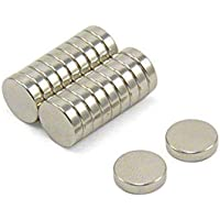 Perfect Magnet Nickel Pawn Style Magnetic Push for Pins Fridge Whiteboard Refrigerator (100 Pins)