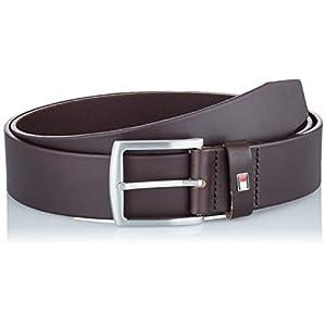Tommy Hilfiger Men's New Denton Belt 4.0, Brown (Testa Di Moro), 80 cm