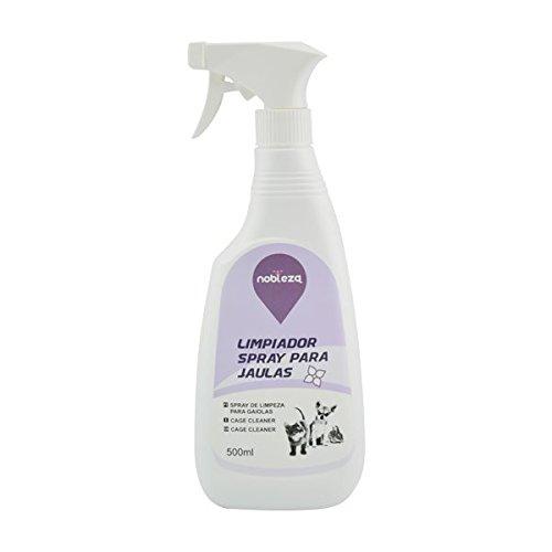 Spray limpiador de espacios ocupados por perros o gatos Nobleza, contenido 500 ml