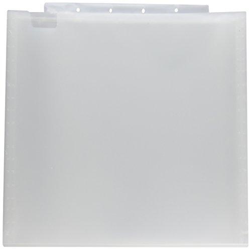We R Memory Keepers Aufbewahrung, gebrochenes Weiß, 34x 2,3x 39cm, 33 x 3.8 x 30.5 cm