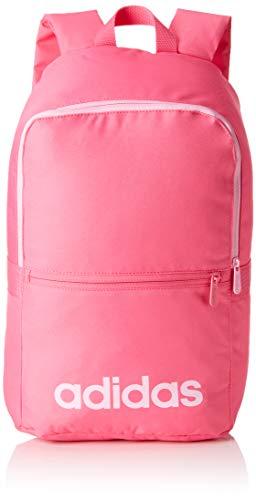 adidas Unisex Linear Classic Daily Rucksack, Rosa (Pink/Grey/True Pink), 16x28x46 cm