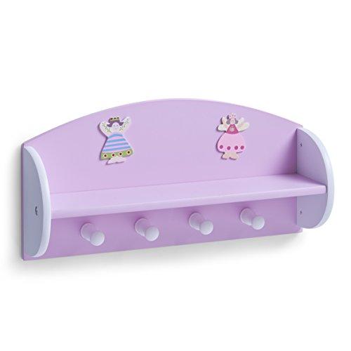 zeller-13448-appendiabiti-per-bambini-principessa-in-mdf-48x12x235-cm