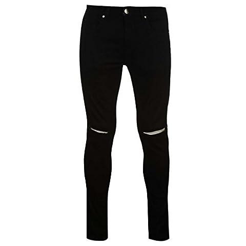 Firetrap Herren Skinny Jeans Denim Hose Jeanshose Slim Fit 5