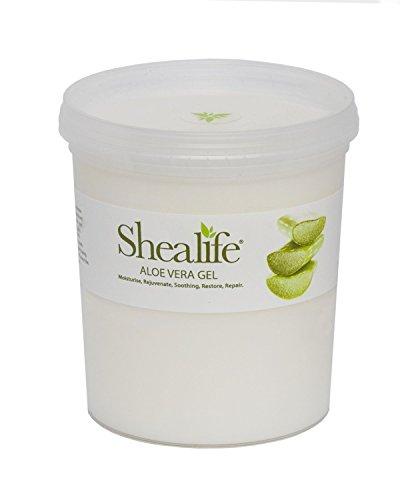 Aloe Vera gel, per Moisturing & trattamento pelle secca: idratare, Rejuvenate, lenitivo, riparare, barattolo da 1000ml