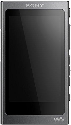 Sony NW-A35 High-Resolution Walkman (16GB, Bluetooth, NFC, bis zu 45 Stunden Laufzeit, DSEE HX Upscale, LDAC), Schwarz