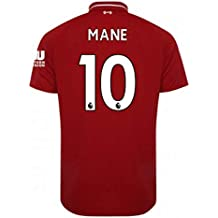2018-2019 Liverpool Home Football Soccer T-Shirt Camiseta (Sadio Mane 10)