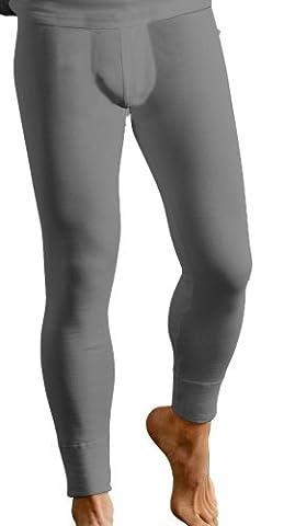 Classic Couche De Base Hommes Thermique Chaude Caleçon Long Sous-vêtement Vêtements De Ski - Cotton, Charbon, classic 50% coton 50% polyester 50% coton 50%polyester, Homme, XX-Large
