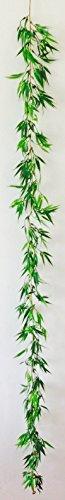BAMBUSGIRLANDE ca 180cm. Künstliche Bambus- GIRLANDE Kunststoff. 180 cm