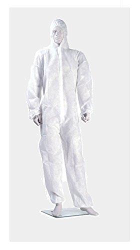 Preisvergleich Produktbild Top+++Einweg Overall Schutzanzug für Maler, Karneval, Freizeit XL Weiß