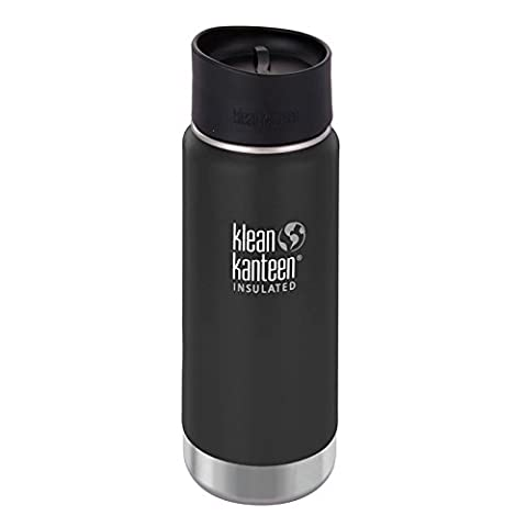 Klean Kanteen Edelstahlflasche mit Cafe Verschluss 473 ml Vakuum Insulated