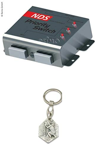 Zisa-Kombi Priority Switch - Vorrangschaltung (93298882192) mit Anhänger Hlg. Christophorus